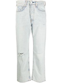 Rag&Bone джинсы бойфренды Maya с прорезями WDD20P2645B1NV