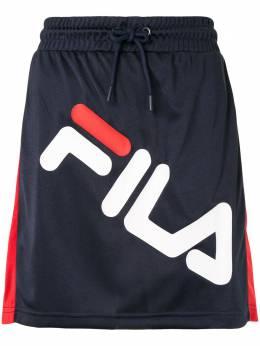 Fila короткая юбка с логотипом LW015997