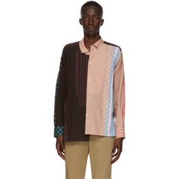 Loewe Multicolor Stripe Pattern Shirt H2109061GA