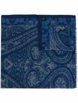 Etro шарф с принтом пейсли 117774016