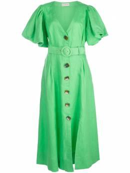 Nicholas платье миди с пышными рукавами S20D188574