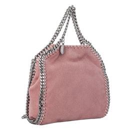 Stella McCartney Pink Tiny Falabella Shaggy Deer Shoulder Bag 298598
