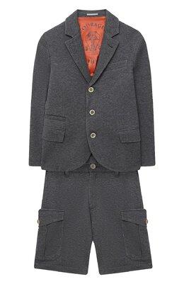 Костюм из пиджака и шорт Brunello Cucinelli BD847A103C