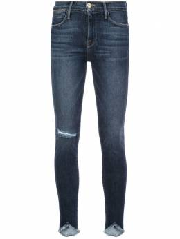 Frame distressed effect skinny jeans LHSKSW231