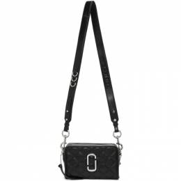 Marc Jacobs Black The Quilted Softshot 21 Bag M0015419