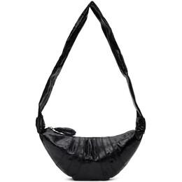 Lemaire Black Small Croissant Bag X 202 BG253 LF345