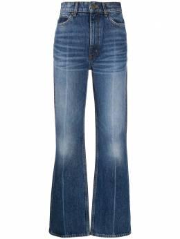 Sandro джинсы bootcut с завышенной талией SFPJE00293