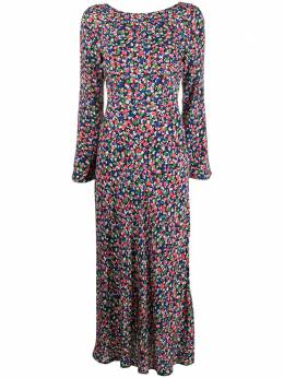 Rixo платье с принтом Mimi Smudge MIMI