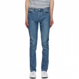 A.P.C. Blue Petit New Standard Jeans COZZK-M09047
