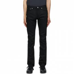 A.P.C. Black Petit Standard Jeans COZZS-M09002