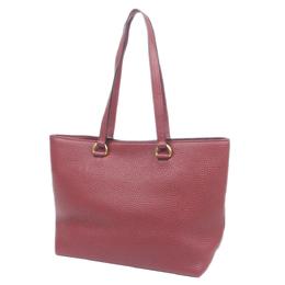 Prada Red Vitello Daino Leather Tote Bag 298721