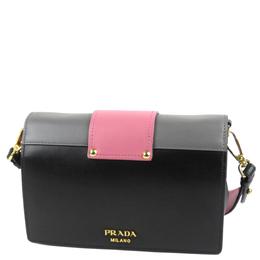Prada Multicolor Leather Ribbon Flap Bag 298727