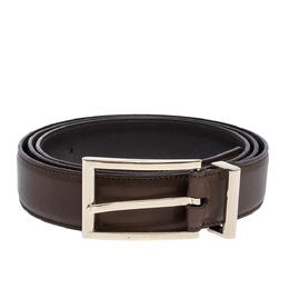 Tom Ford Brown Leather Belt 110CM 300483