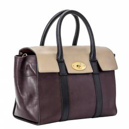 Mulberry Multicolor New Bayswater Leather Small Satchel Bag 298580