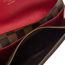 Louis Vuitton Monogram Canvas Emilie Continental Wallet 300462