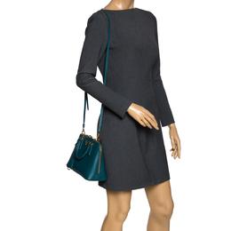 Prada Green Saffiano Leather Small Promenade Shoulder Bag 301373