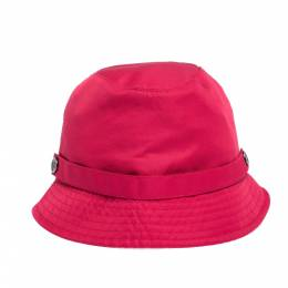Burberry Pink Synthetic Bucket Hat 301145