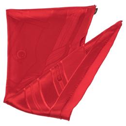 Hermes Red Quadrige Silk Jacquard Losange Scarf 301140