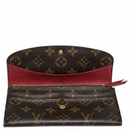 Louis Vuitton Monogram Canvas Emilie Wallet 300502