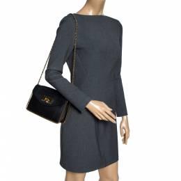 Chloe Black Leather Small Sally Shoulder Bag 300303