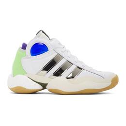 Sankuanz White adidas Edition Crazy BYW Sneakers FU8408