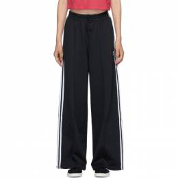 Adidas Originals Black Primeblue Wide-leg Lounge Pants GD2273