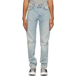 Nudie Jeans Blue Faded Steady Eddie II Jeans 113343
