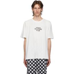 Stolen Girlfriends Club White Techno Punk T-Shirt C1-20T001W-B