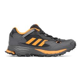 Adidas Originals Black and Orange Response Hoverturf GF6100A Sneakers FX4151