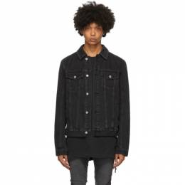 Ksubi Black Classic Denim Jacket 12050