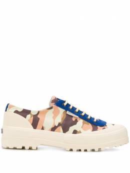 Superga кроссовки с камуфляжным принтом S61118W