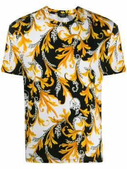 Versace футболка с принтом Acanthus A77276A236035