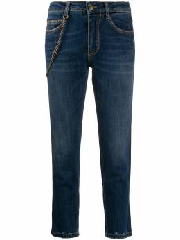 Ermanno Scervino джинсы скинни с цепочкой D357P302TNB