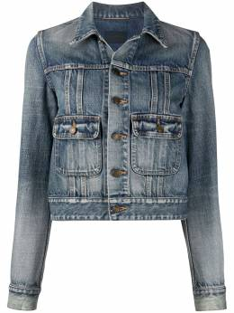 Saint Laurent джинсовая куртка 633031Y502V