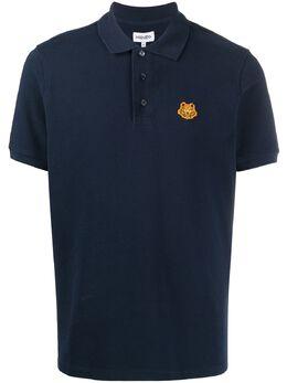 Kenzo рубашка поло с нашивкой Tiger FA65PO0014PU