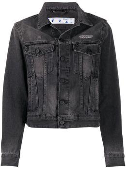Off-White джинсовая куртка на пуговицах OWYE012E20DEN0040610