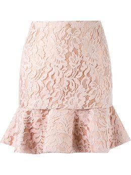 Martha Medeiros кружевная юбка с высокой талией IN16SA04