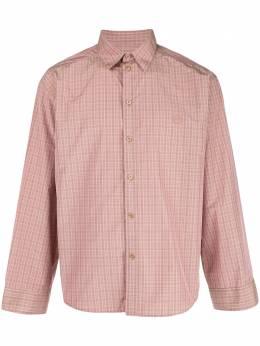 Martine Rose клетчатая рубашка с длинными рукавами MRSS20422
