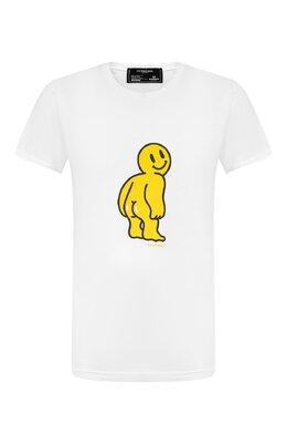 Хлопковая футболка Dom Rebel M00N/T-SHIRT