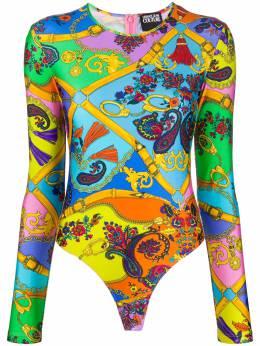 Versace Jeans Couture боди с графичным принтом D4HZA680S0826