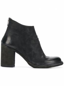 Officine Creative zipped ankle boots OCDVERN008VERTI1000