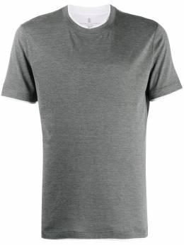 Brunello Cucinelli футболка с короткими рукавами MTS377427CZ391