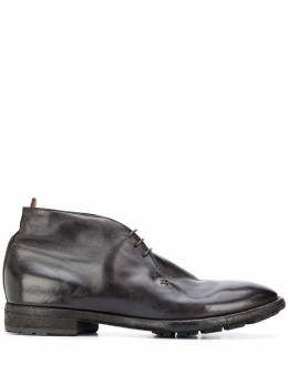 Officine Creative глянцевые ботинки на шнуровке OCUPRIN018IGNISD215