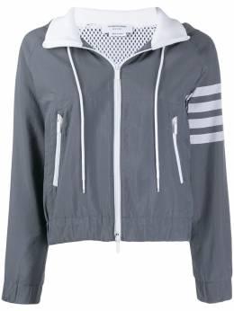 Thom Browne куртка на молнии с капюшоном FJT071A06145