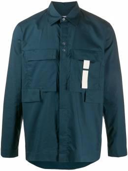 Craig Green рубашка с карманами карго CGAW20CWOSHI02