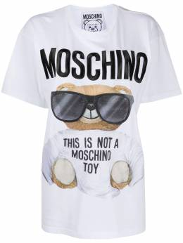 Moschino футболка Teddy Bear V07065540