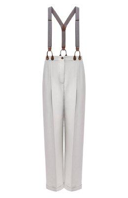 Шелковые брюки Giorgio Armani 0SHPP0AA/T01HI