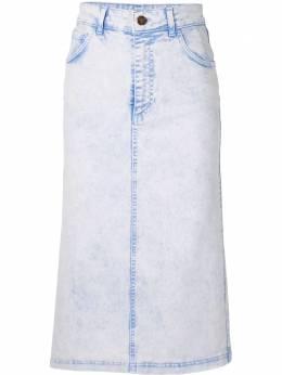 Vivetta джинсовая юбка прямого кроя V2SC12160166394