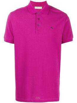 Etro рубашка поло с вышитым логотипом 1Y9999059
