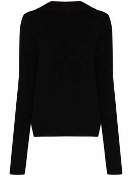 Rick Owens cashmere and wool-blend hoodie RP20F2685WSBR